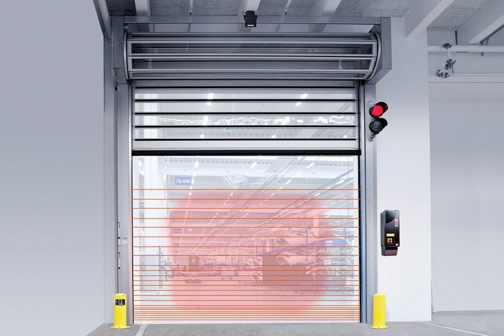 דלתות תעשייתיות נגללות