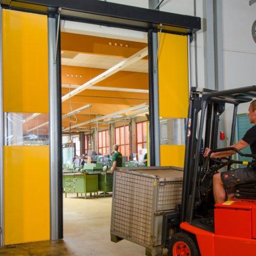 דלתות אוטומטיות מהירות לתעשייה
