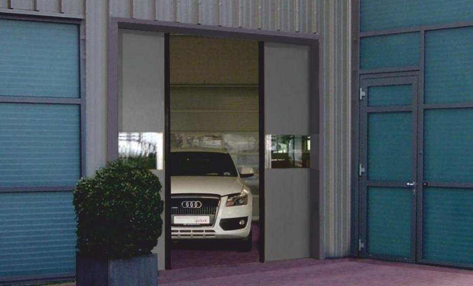 דלת אוטומטית לתעשיה