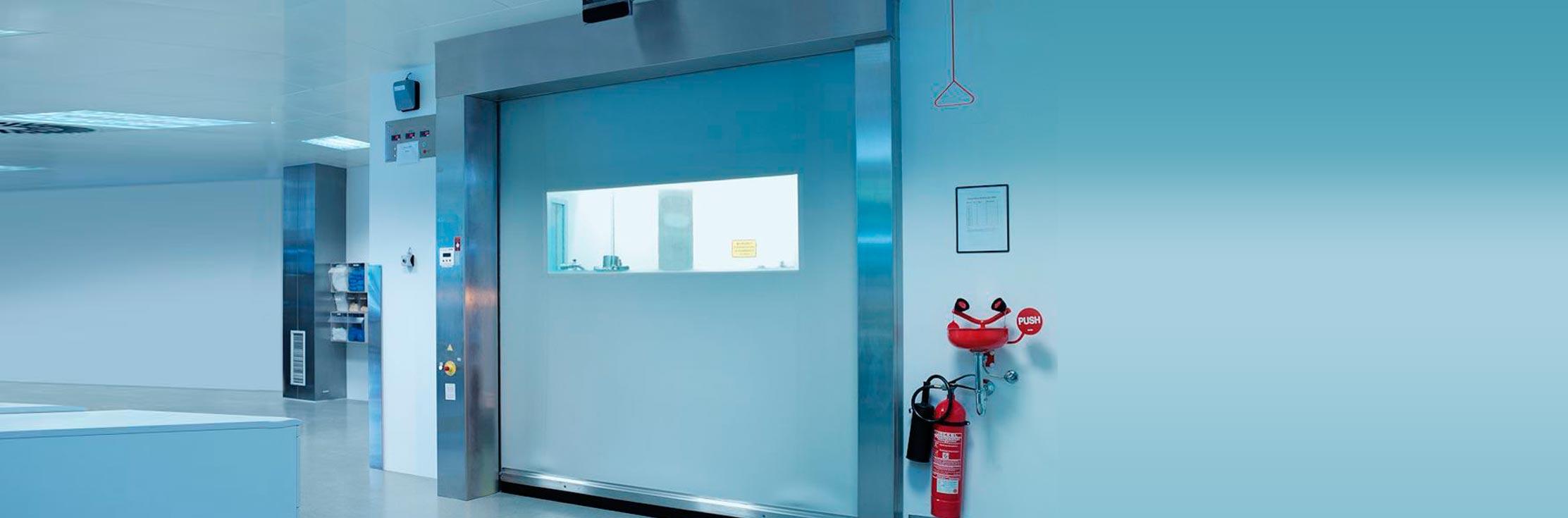 דלתות לחדרים נקיים ומעבדות