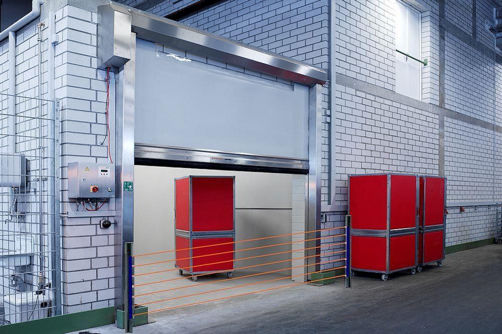 דלתות מהירות תעשייתיות