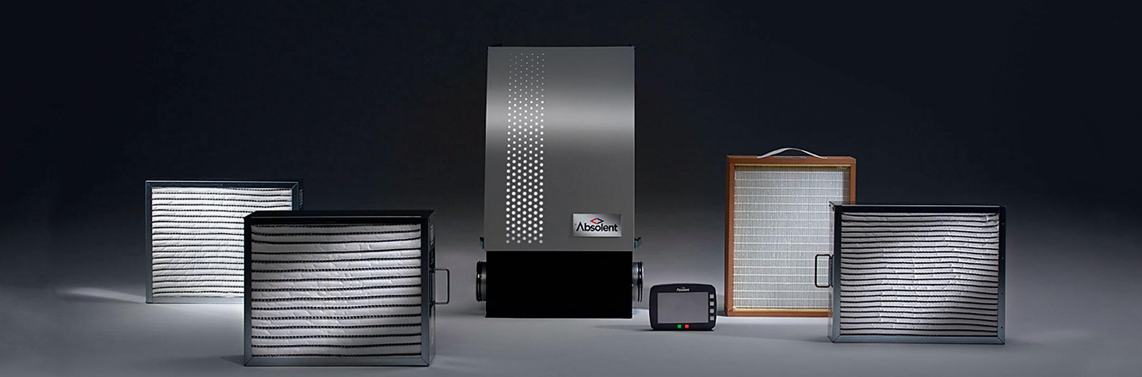 מערכות סינון אוויר - אדי אמולסיה ושמן